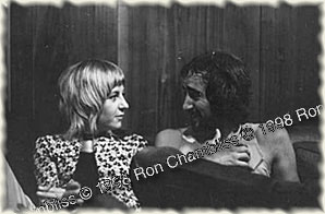 John & Christine McVie, 1970 Photo © Ron Chambliss