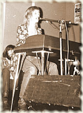 Christine McVie Redcar Jazz Club, 1969/70 Tour Photo © David Allison
